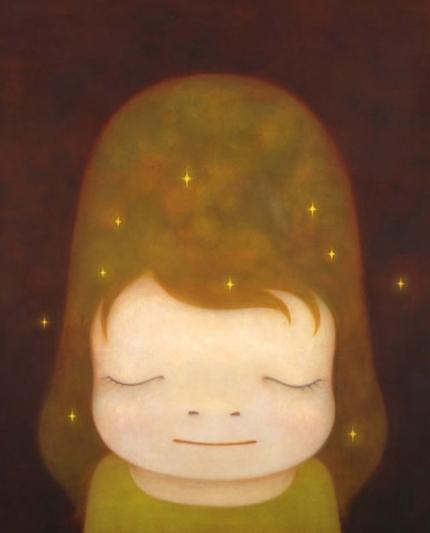 The way I picture myself as one of Yoshitomo Nara's artworks